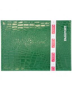 Обложка для паспорта HJ Barez (Croc)